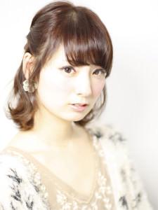 佐藤ありささんみたいなモテ美人に♡三つ編みハーフアップTOP