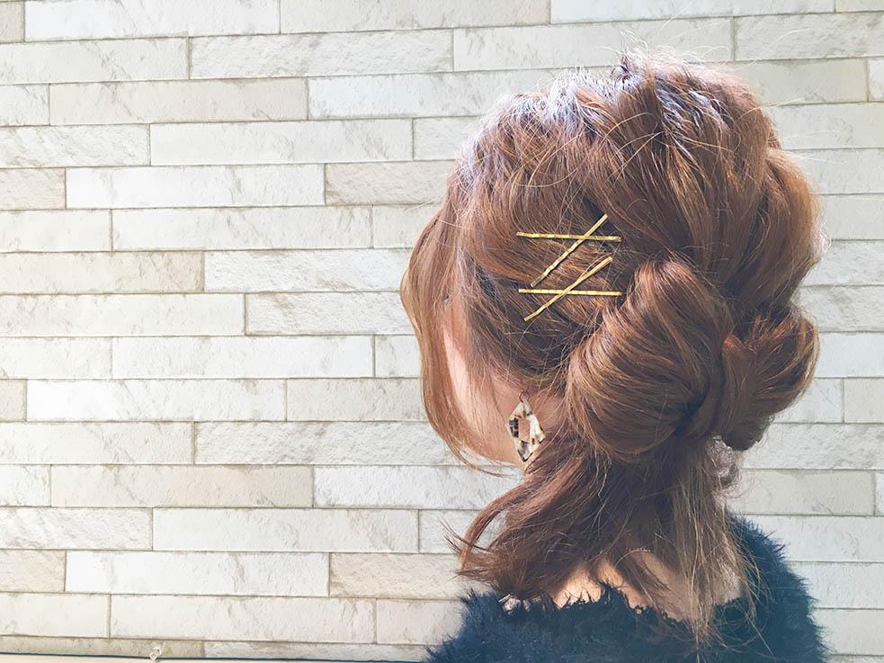 イベントに使える!自分の髪で作るリボンヘアTOP