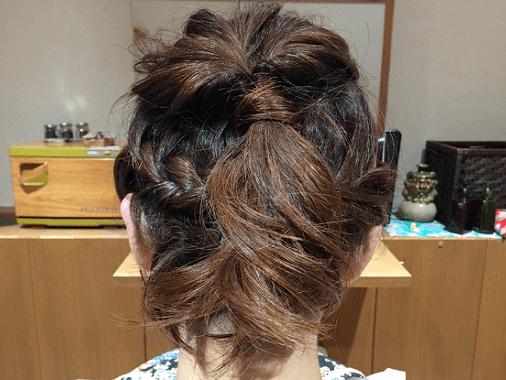 刈り上げボブのクールヘアアレンジtop