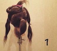 リボンヘアの作り方!地毛だけで出来るヘアアレンジ☆1