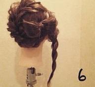 リボンヘアの作り方!地毛だけで出来るヘアアレンジ☆6