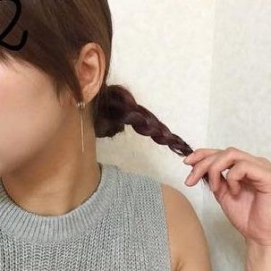 究極の色っぽさを演出!かきあげ&まとめ髪ヘアアレンジ☆2