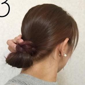 究極の色っぽさを演出!かきあげ&まとめ髪ヘアアレンジ☆3