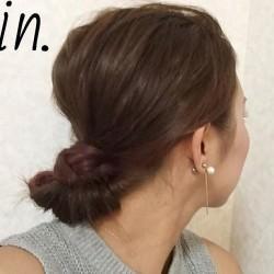 究極の色っぽさを演出!かきあげ&まとめ髪ヘアアレンジ☆完成