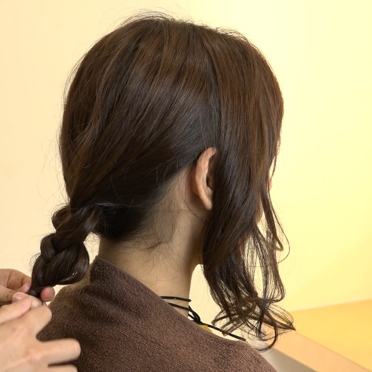 自分でできる♪女子会にぴったりなまとめ髪2