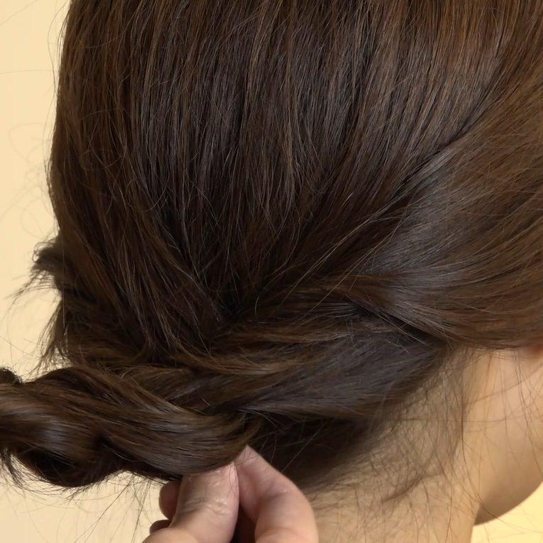 自分でできる♪女子会にぴったりなまとめ髪4