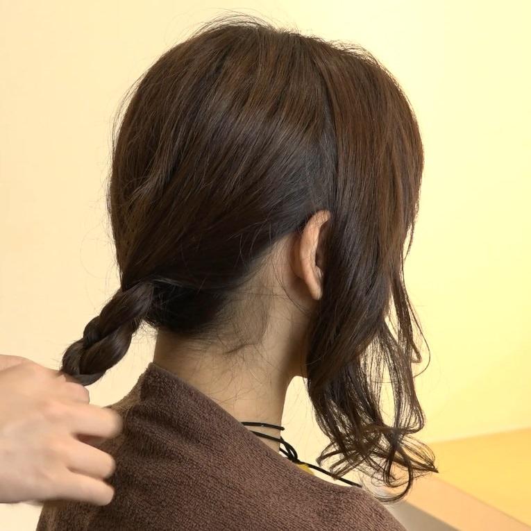 自分でできる♪女子会にぴったりなまとめ髪1