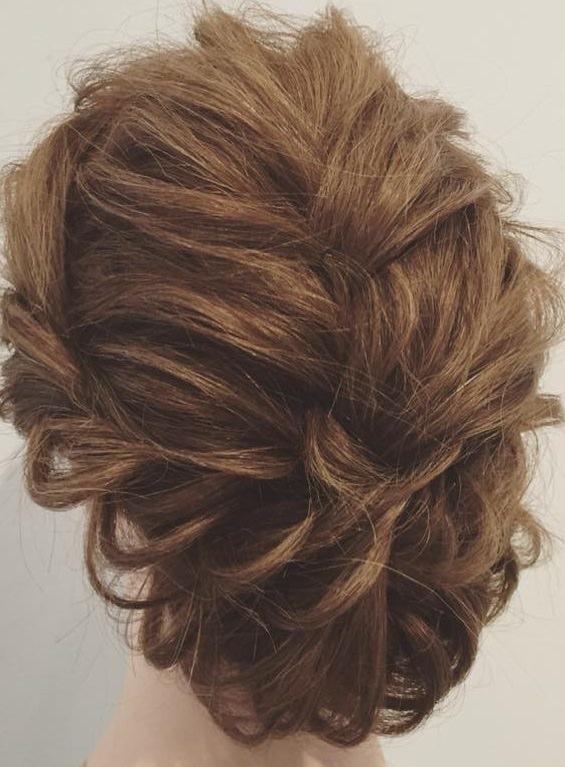 簡単編み込みアレンジ☆まとめ髪の作り方