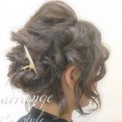 ショートヘアで作る☆オシャレ女子のまとめ髪♪完成