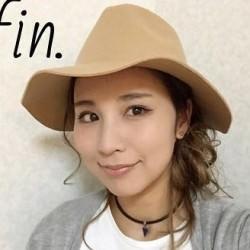 春にぴったり☆女優帽に合うヘアアレンジ完成