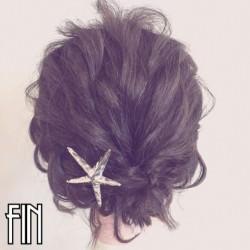 伸ばしかけのボブヘアで作る簡単まとめ髪☆TOP