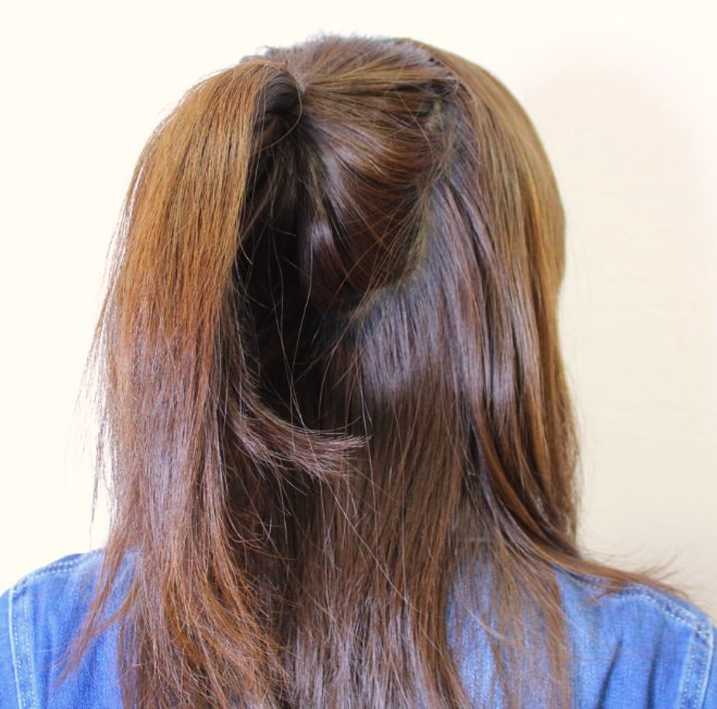 インパクトがある可愛さ!ビックリボンヘア×まとめ髪アレンジ☆1