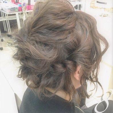 ショートヘアで作る☆オシャレ女子のまとめ髪♪8