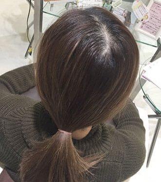 ふんわり×手直し簡単♪トップの髪にボリュームを出す方法!1