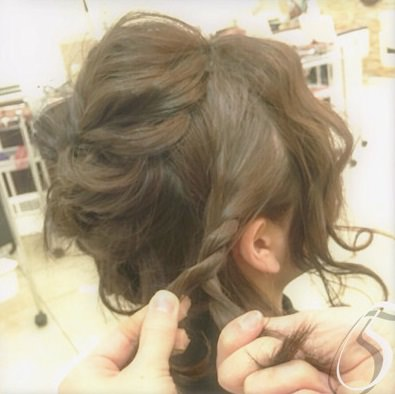 ショートヘアで作る☆オシャレ女子のまとめ髪♪5