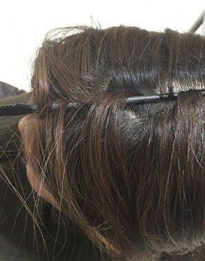 ふんわり×手直し簡単♪トップの髪にボリュームを出す方法!3