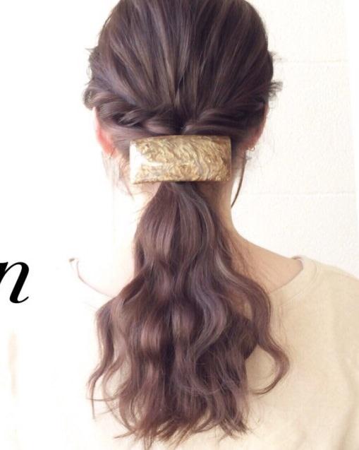 ストレートヘアだから作れる☆ダウンヘア!完成