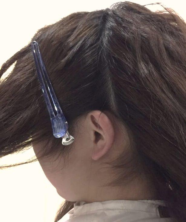 脱巻き髪!人気の波ウェーブで作る三つ編みアレンジ☆2