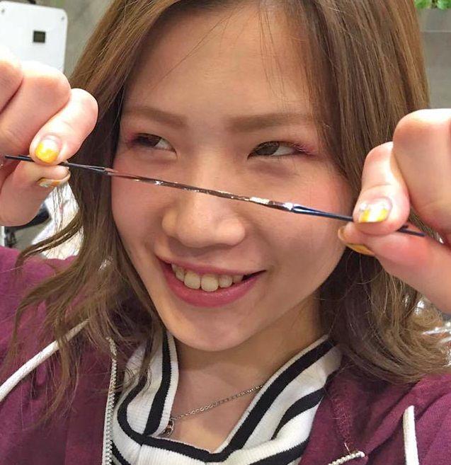 ミディアムヘアを綺麗にくくるコツ☆1
