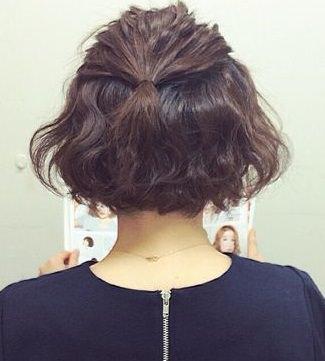 進化し続けるくるりんぱ☆ショートのためのヘアアレンジ3