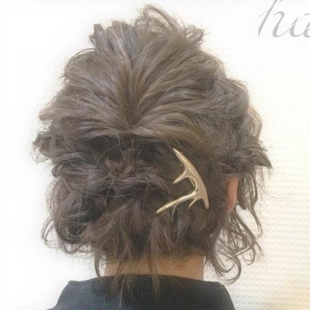 ショートヘアで作る☆オシャレ女子のまとめ髪♪back