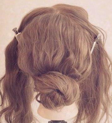 ニュアンスのあるまとめ髪ヘア!2