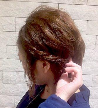 ふんわり×波ウェーブ☆ショートヘアの方のためのイメチェンアレンジ!2