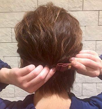 ふんわり×波ウェーブ☆ショートヘアの方のためのイメチェンアレンジ!4