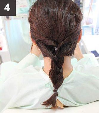 波ウェーブ×まとめ髪でイメージチェンジ!4