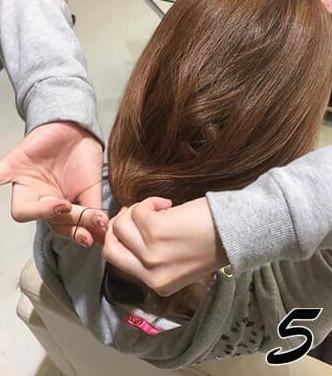 ロングヘアに飽きてしまった方必見!ボブ風ヘアに変身出来るアレンジ☆5