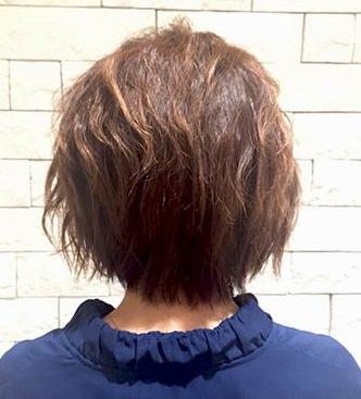 ふんわり×波ウェーブ☆ショートヘアの方のためのイメチェンアレンジ!1