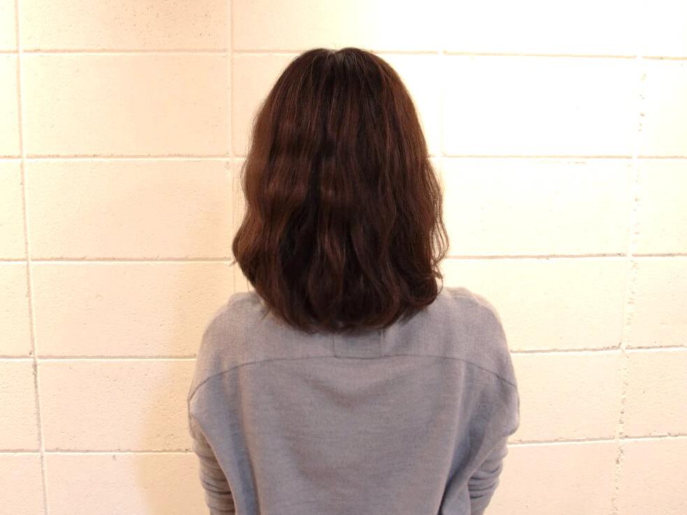伸ばしかけの髪でも出来る編み込みアレンジ1