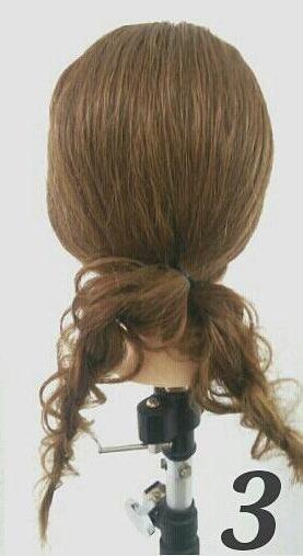 大人女子に♪ゆるいまとめ髪アレンジ3
