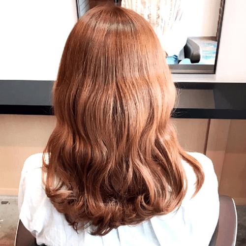 キャスケット×フィッシュボーンのおしゃれカジュアルヘア☆1