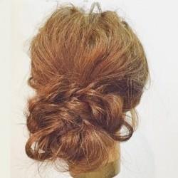 ロープ編みだけで出来る簡単まとめ髪アレンジTOP