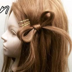 サイドヘアーでリボンアレンジ♪TOP