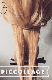 髪を縛る!?編み込み不要のポニーテールアレンジ3