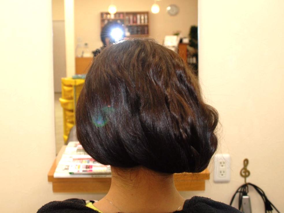 大人の品格漂う♪すっきまとめ髪6