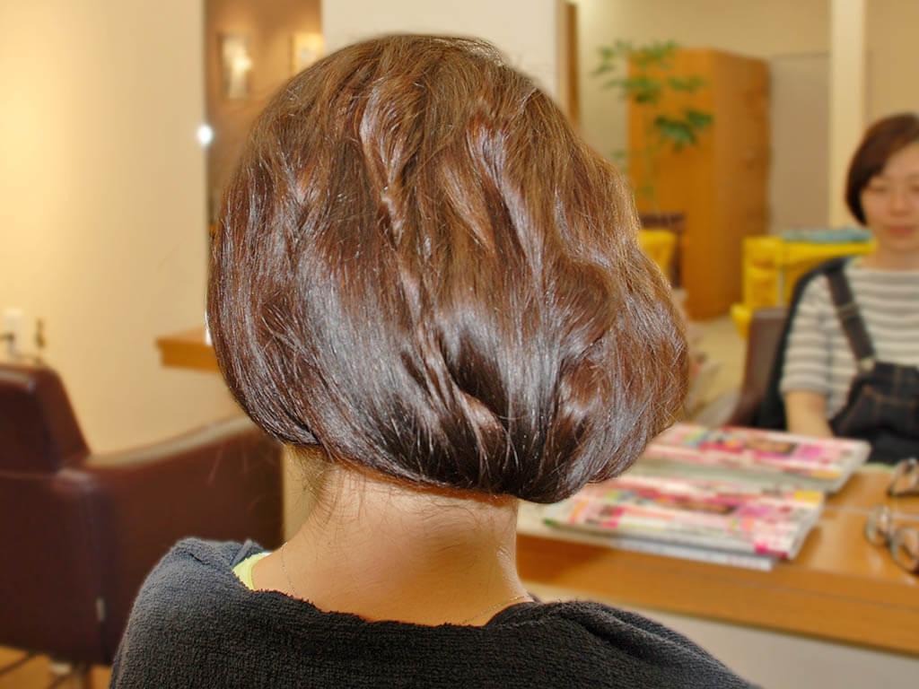 大人の品格漂う♪すっきまとめ髪
