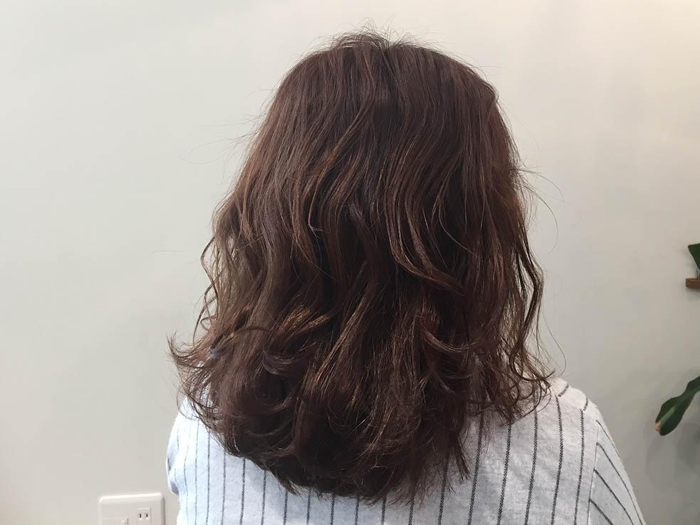 5分で完成!簡単くるりんぱアレンジまとめ髪2