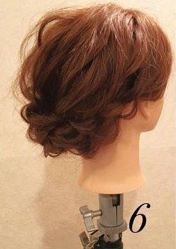 品良く可愛い♪まとめ髪アレンジ6