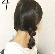 カジュアルかわいい☆ツイン三つ編み4