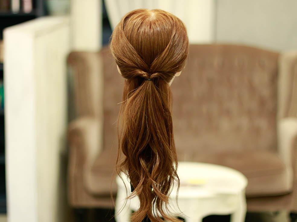 ロング女子必見!アップ&ダウン欲張り2スタイルヘアアレンジ♪3