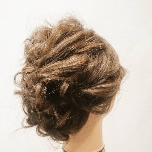 ゆるミディアム☆大人女子の色っぽアップヘアアレンジTOP