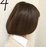 髪が長い人でも大丈夫!偽ボブヘア4