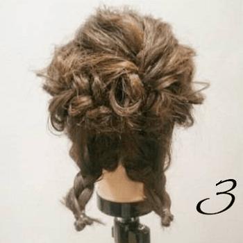 ゆるミディアム☆大人女子の色っぽアップヘアアレンジ3