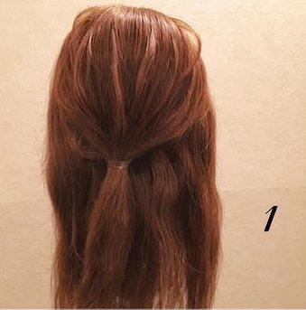 品良く可愛い♪まとめ髪アレンジ1