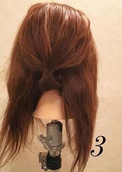 品良く可愛い♪まとめ髪アレンジ3