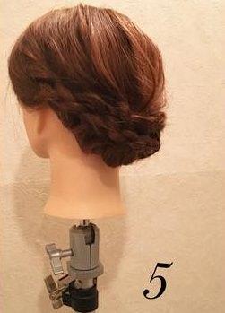品良く可愛い♪まとめ髪アレンジ5
