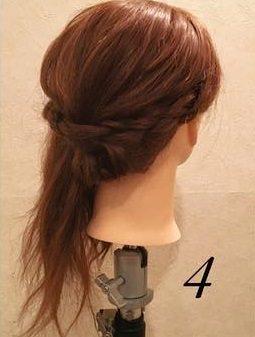 品良く可愛い♪まとめ髪アレンジ4